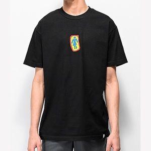 GIRL SKATEBOARD CO. Girl Sketchy OG Black T-Shirt